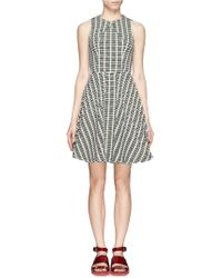 Opening Ceremony Tetra Wavy Cross Panel Dress - Lyst