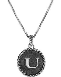 David Yurman - Cable Collectibles Initial Charm - Lyst