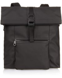 Mulberry - Fleet Coated-canvas Backpack - Lyst