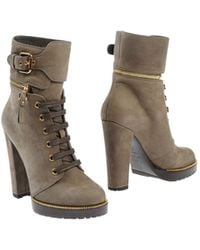 Sergio Rossi Ankle Boots - Lyst