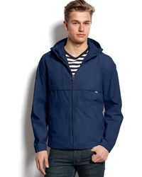 Levi's Taslan Nylon Hooded Jacket - Lyst