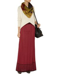 M Missoni Crochet-knit Maxi Skirt - Lyst