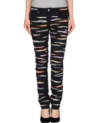 Isabel Marant Denim Trousers black - Lyst