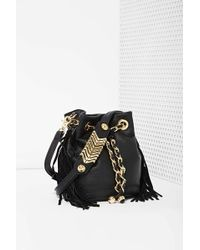 Nasty Gal Mind Games Vegan Leather Bucket Bag - Lyst