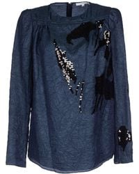 Carven Blouse - Lyst