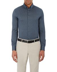Giorgio Armani - Men's Abstract-pattern Shirt - Lyst