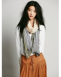 Free People Jade Lace Scarf - Lyst