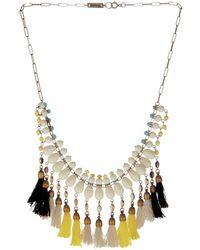 Isabel Marant Mild Bead And Tassel Necklace - Lyst