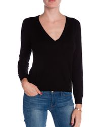 Minden Chan V-Neck Sweater - Lyst