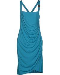 Versace Jeans Knee-Length Dress - Lyst