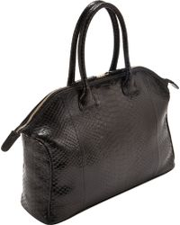 Zagliani Python Small Tomodachi Bag - Lyst