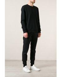 Matthew Miller Zip Back Sweater - Lyst