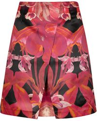 Ted Baker Jungle Orchid Print Skirt - Lyst