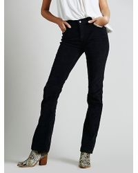 Free People Extended Cord Skinny - Lyst