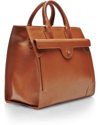 Carven - Leather Tote Bag - Lyst