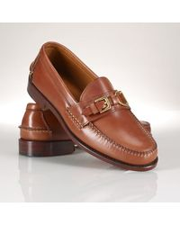 Polo Ralph Lauren Leather Thatcher Loafer - Lyst