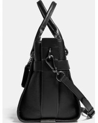 COACH | Swagger Carryall In Pebble Leather | Lyst