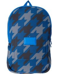 Marc By Marc Jacobs - Blue Houndstooth Mesh Backpack - Lyst