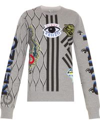 Kenzo All Branded Sweater - Lyst