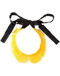 N°21 - Beaded Fringe Necklace - Lyst