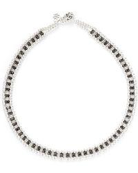 Philippe Audibert - 'lysa' Crystal Bead Choker Necklace - Lyst