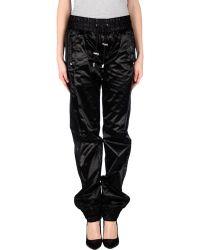 D&G Casual Trouser black - Lyst