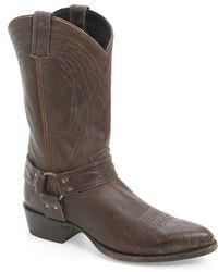 Frye | 'billy' Harness Western Boot | Lyst
