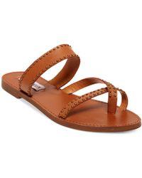 Steve Madden Women'S Aveery Flat Sandals - Lyst