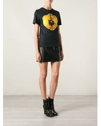 Christopher Kane Tulip Print Tshirt - Lyst