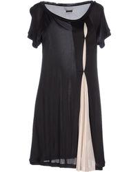 Gianfranco Ferré Short Dress black - Lyst