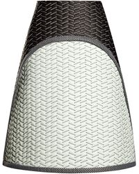 Proenza Schouler Quilted Leather Aline Skirt - Lyst