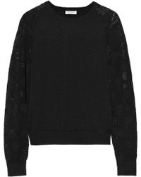 Equipment Sloane Cotton and Linen-blend Sweater - Lyst