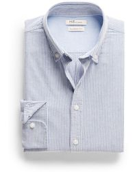 Mango Classicfit Striped Oxford Shirt - Lyst