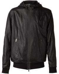 Drome Black Zip Jacket - Lyst