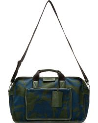 Marc By Marc Jacobs - Blue Camo Yes We Can Boxy Duffle - Lyst