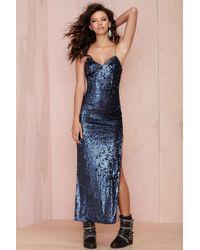 Nasty Gal Line  Dot Seymour Sequin Dress - Lyst