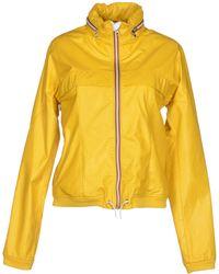 Gold Bunny Jacket - Lyst