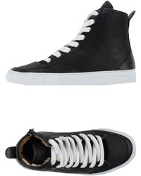 MM6 by Maison Martin Margiela High-Tops & Trainers black - Lyst