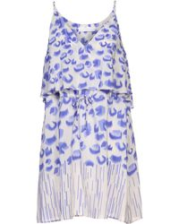 Thakoon Addition Blue Kneelength Dress - Lyst