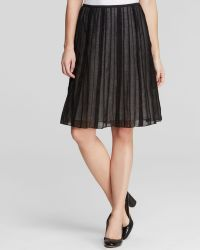 Nic + Zoe Nic + Zoe Batisse Accordion Pleat Skirt - Lyst