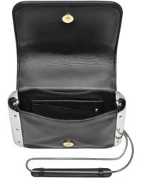 Jean Paul Gaultier - Black Quilted Leather Crossbody Bag - Lyst