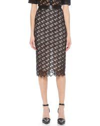 Jenni Kayne - Lace Pencil Skirt - Lyst