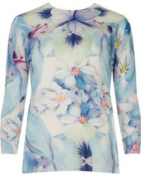 Ted Baker Natalay Natural Kingdom Jumper - Lyst