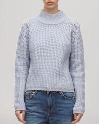 Whistles Sweater - Ribbed Turtleneck - Lyst