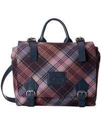 Vivienne Westwood New Tartan Positano Bag - Lyst