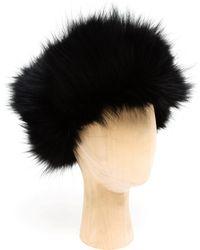 Inverni Fox Fur Hat - Lyst