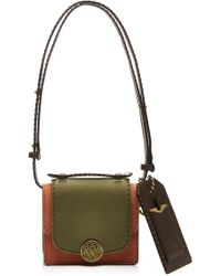 Marc Jacobs Mini Trouble Leather Bag - Lyst