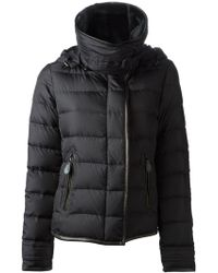Burberry Lamb Fur Collar Jacket - Lyst