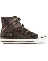 Ash Virgin Buckled Sneakers - Lyst