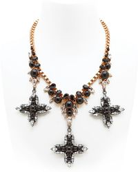Ellen Conde - Dipped In Rose Gold Necklace - Lyst